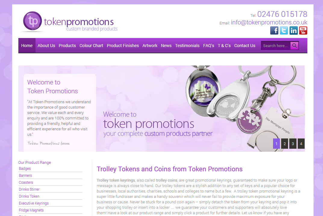 Token Promotions